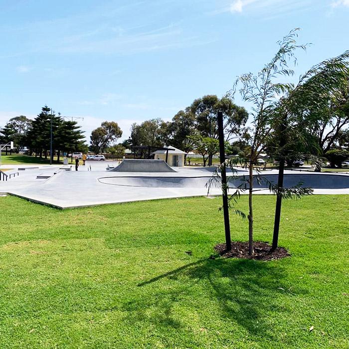 port kennedy skate park landscaping maintenance