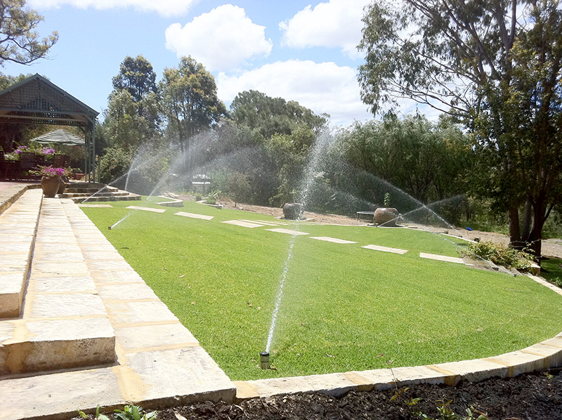residential reticulation sprinkler systems design and install